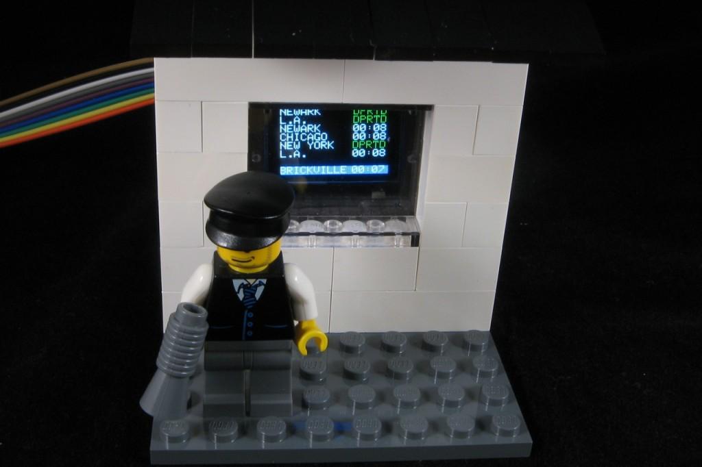 Oled lego train schedule « adafruit industries makers
