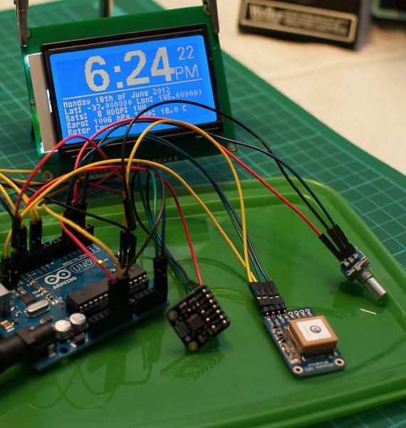 Flickr Pool Friday – GPS Clock « Adafruit Industries