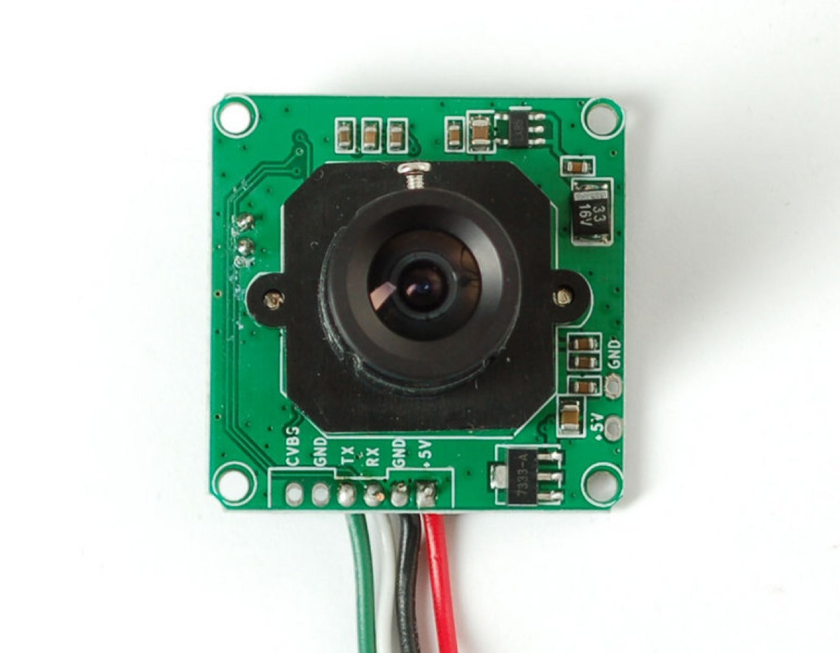 Wireless USB webcam - Capture frame Electronics
