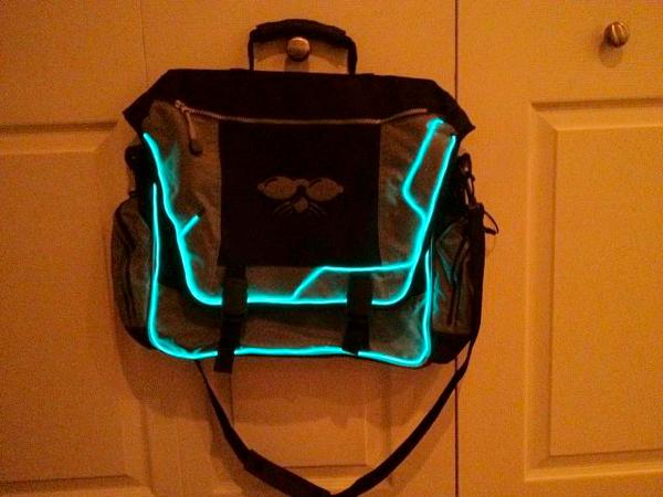 TRON bag by @spacerog « Adafruit Industries – Makers, hackers ...