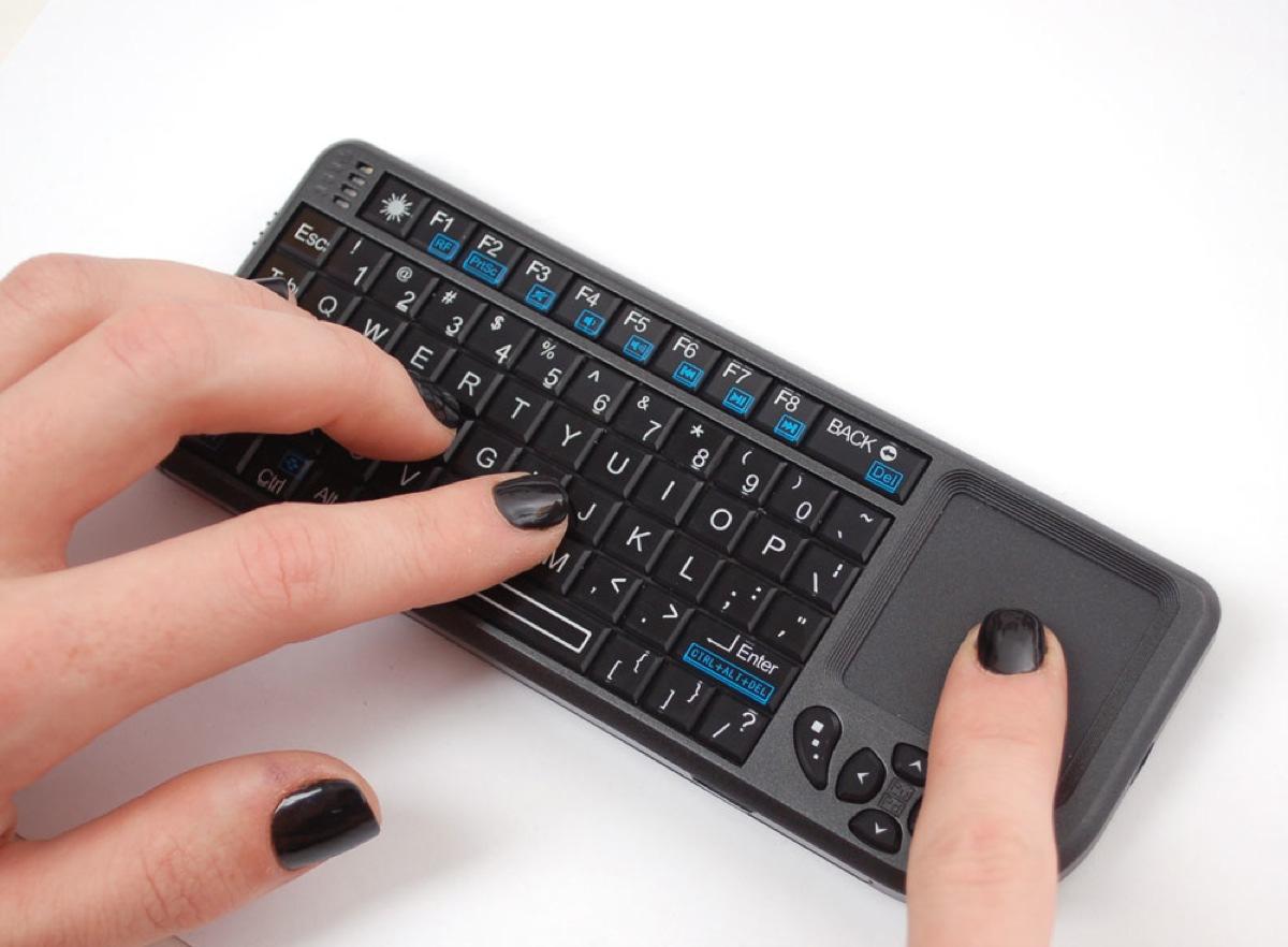 New Product Miniature Wireless Usb Keyboard With