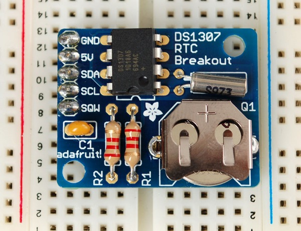 DS1307 Real Time Clock Breakout Board Kit - mousercom