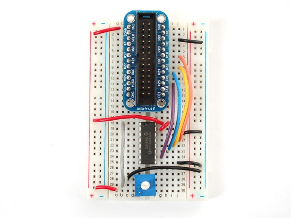 Mcp23008wiring