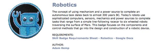 Robotics adafruit academy