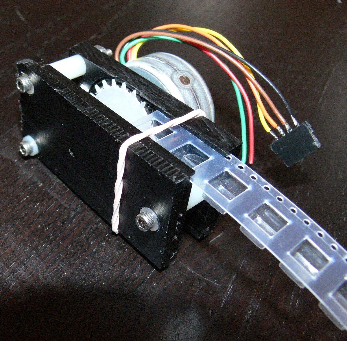 motorized smt tape