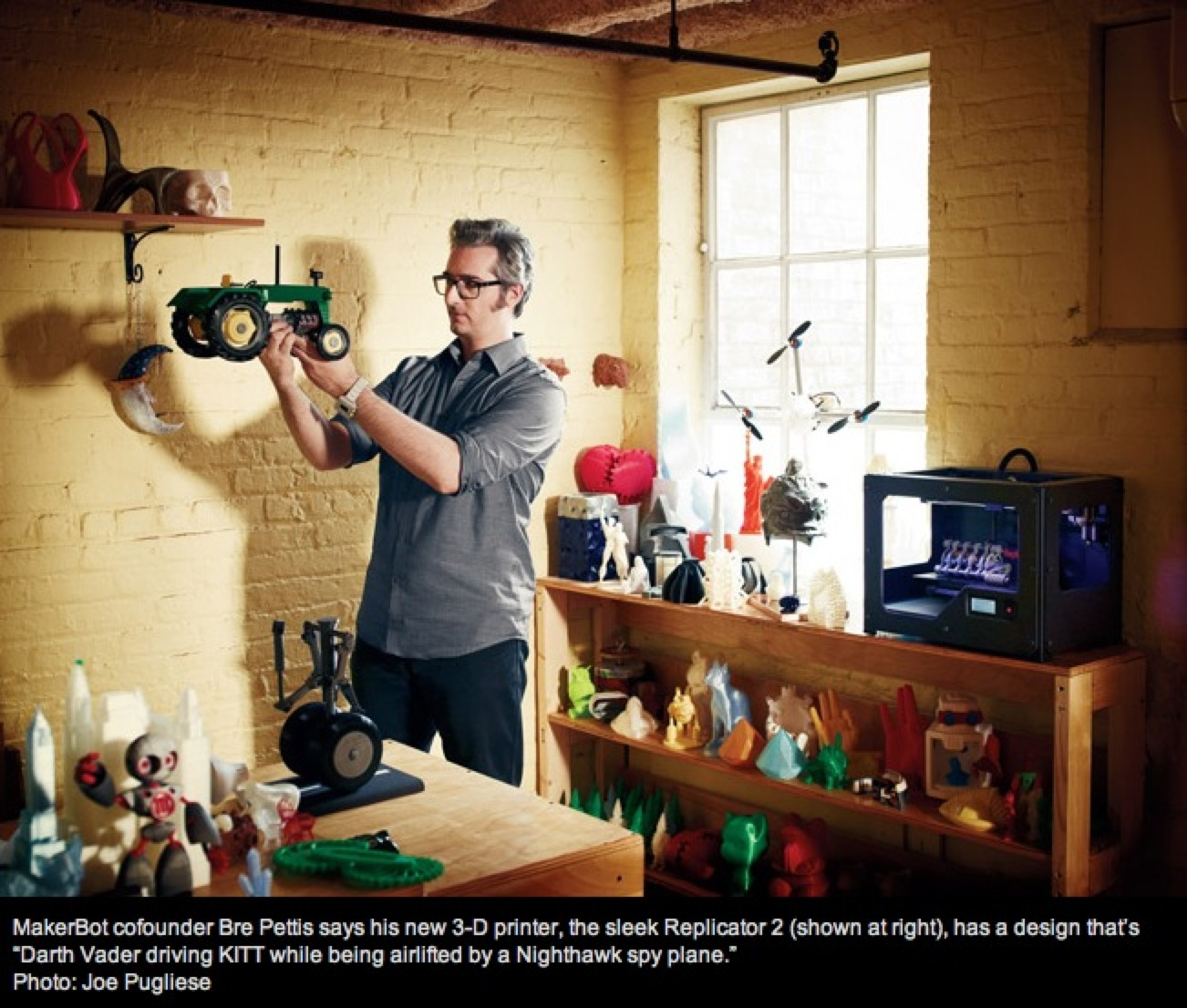 "The New MakerBot Replicator Might Just Change Your World"" « Adafruit"