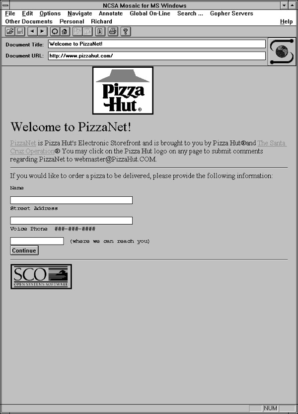 Pizzanet Commercially Licensed And Bundled Internet