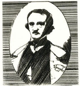Edgar Allan Poe - pen-plotted
