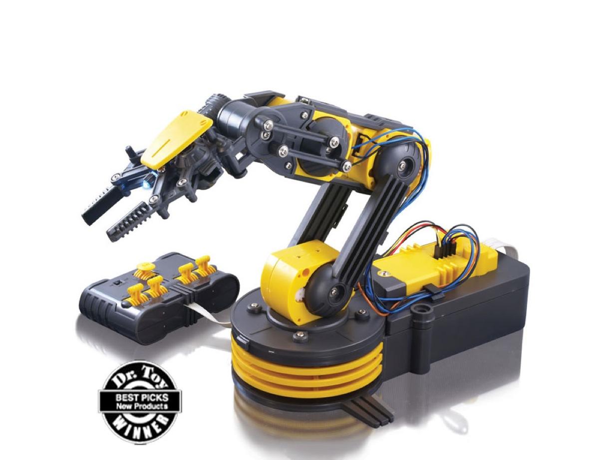 Robotic Arm Kit With Usb Pc Interface Raspberry Pi