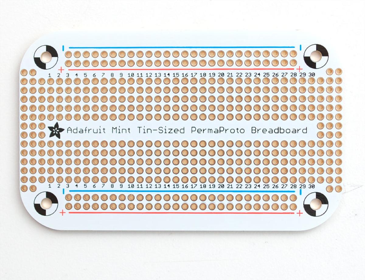 Mint Tin PermaProto Breadboard