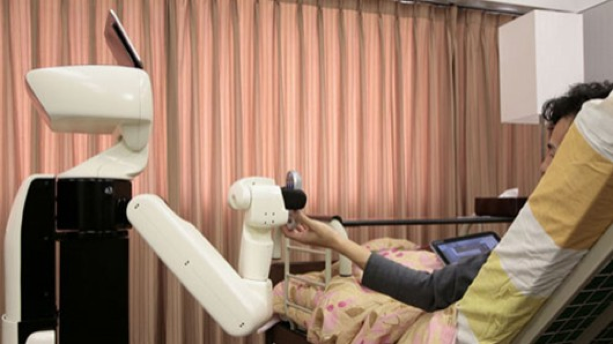 Toyota's helpful Human Support Robot