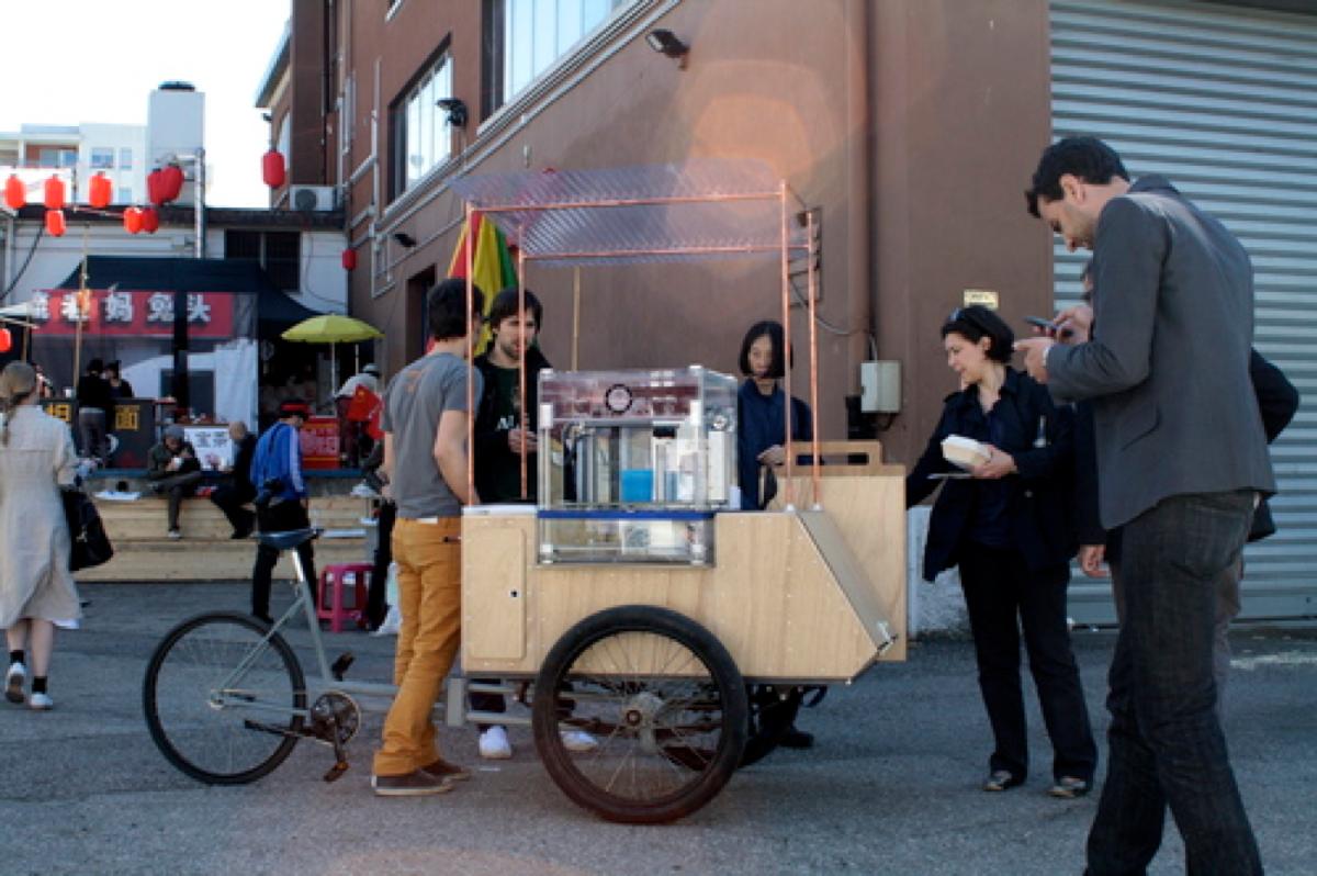 3D Printer Street Cart Kiosk from Unfold « Adafruit