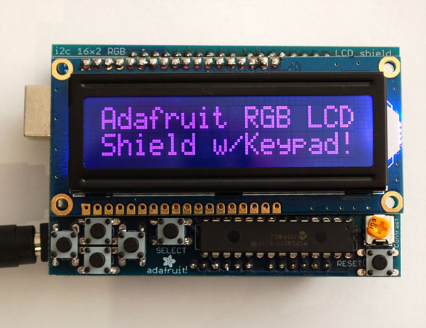 LiquidTWI2 v1 0: A Lean, High Performance I2C LCD Library for