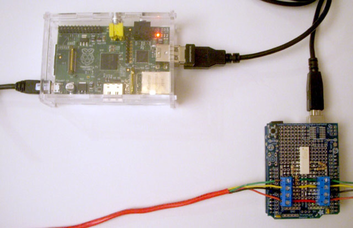 Serial Communication between Raspberry Pi and Arduino
