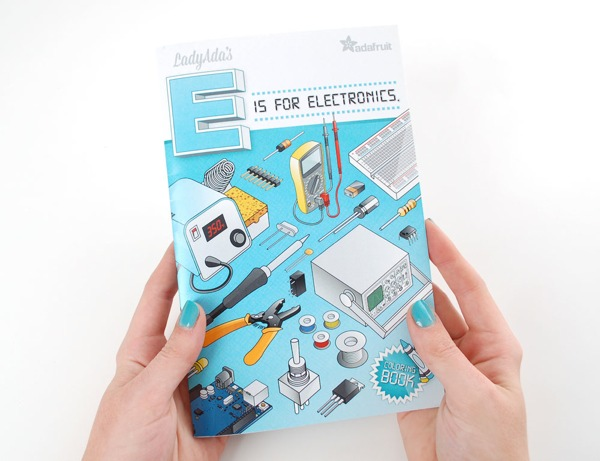 9 Year Old Coloring Books : E for electronicsu201d coloring book review from 9 year old
