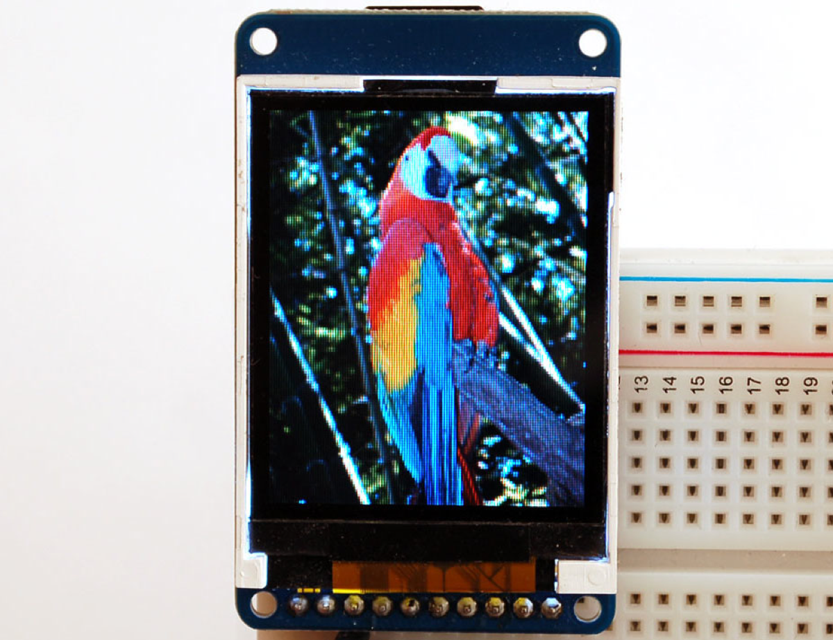 ColorTFT LCD display