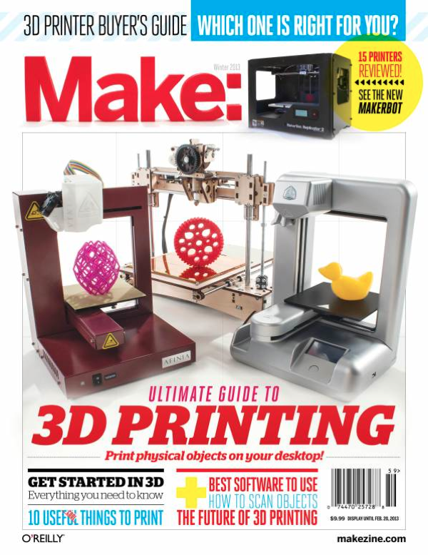 MAKEUltimateGuideTo3DPrinting