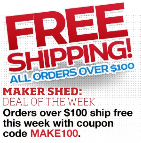 Makershedad Freeshipping
