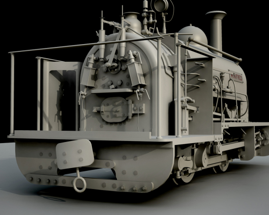 RenderedLocomotive