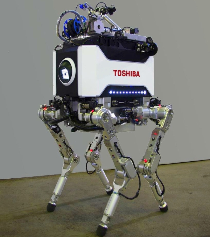 Toshiba-Quadruped-Robot 1