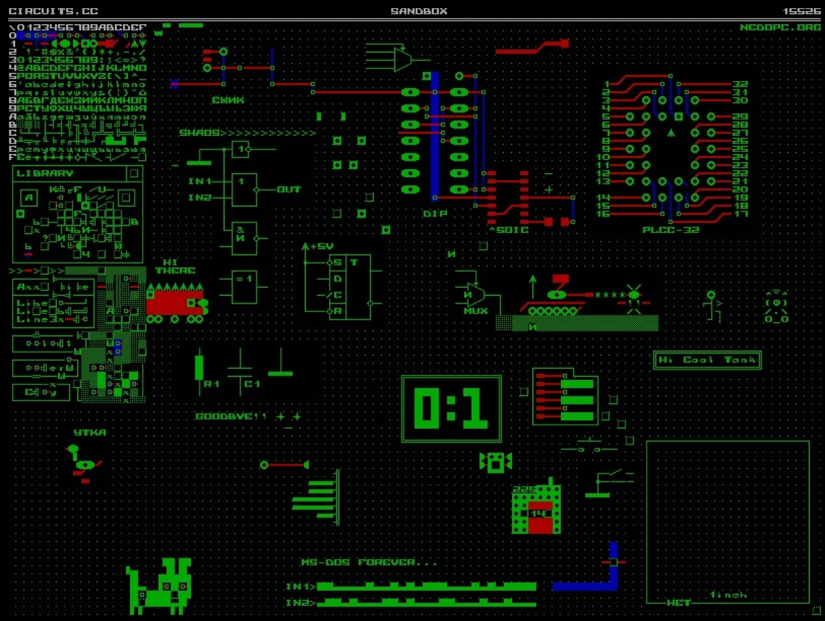 Circuits.cc – Online ASCII PCB and schematics editor « Adafruit ...