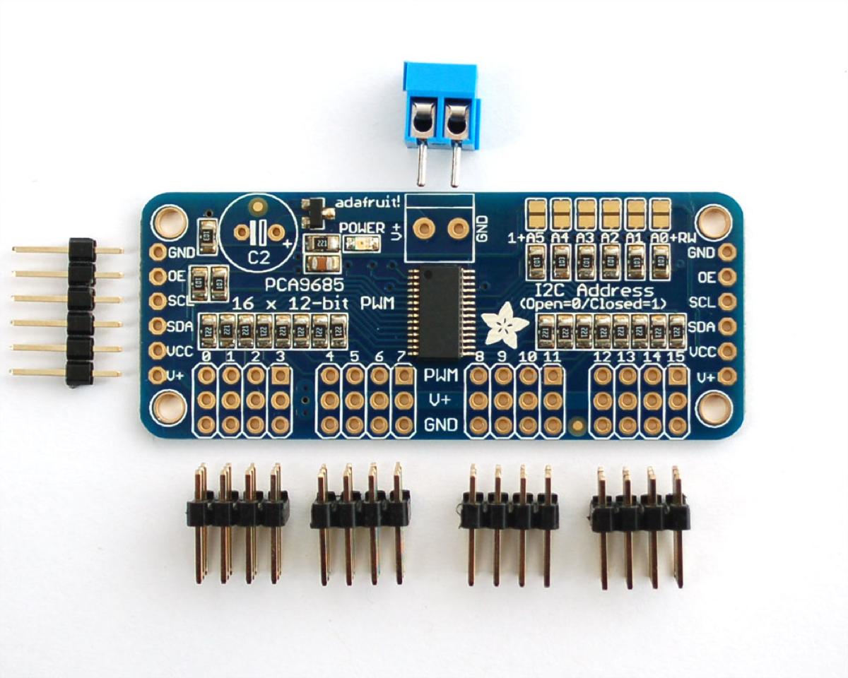 Adafruit 16-Channel 12-bit PWM Servo Driver