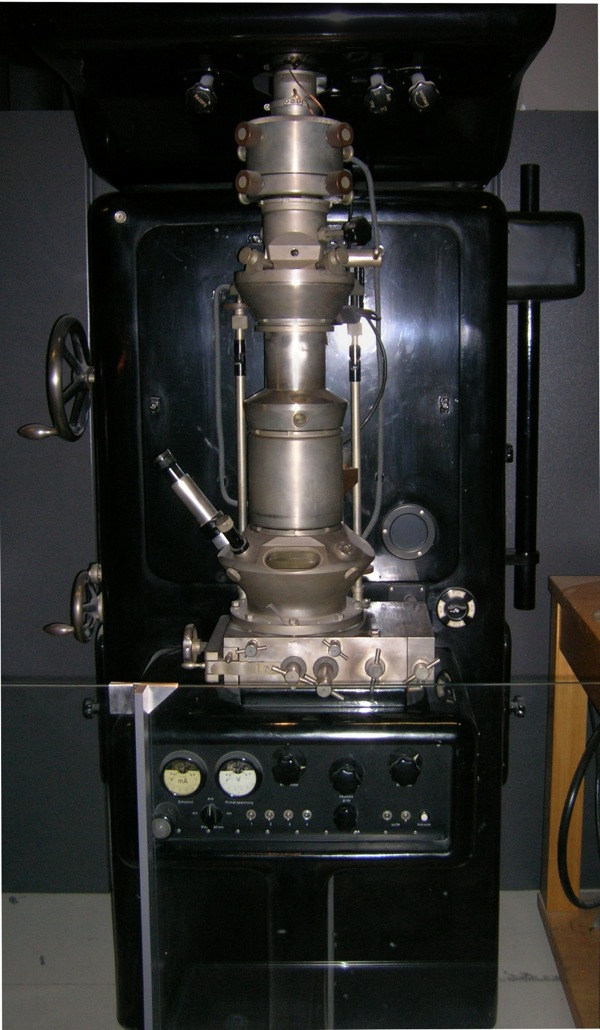 Ernst Ruska Electron Microscope - Deutsches Museum - Munich-Edit