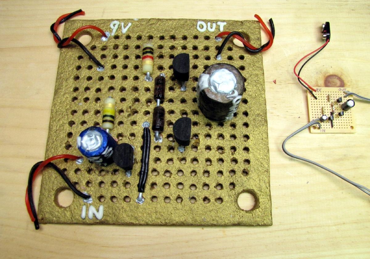 Gingerbread Class Ab Amplifier Adafruit Industries Makers Circuit Board Maker Images Of Hacks