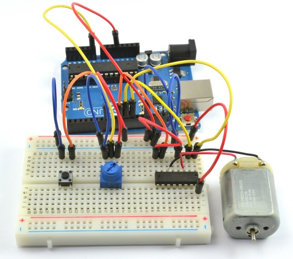 Tutorial Arduino Lesson 15 Dc Motor Reversing Adafruit