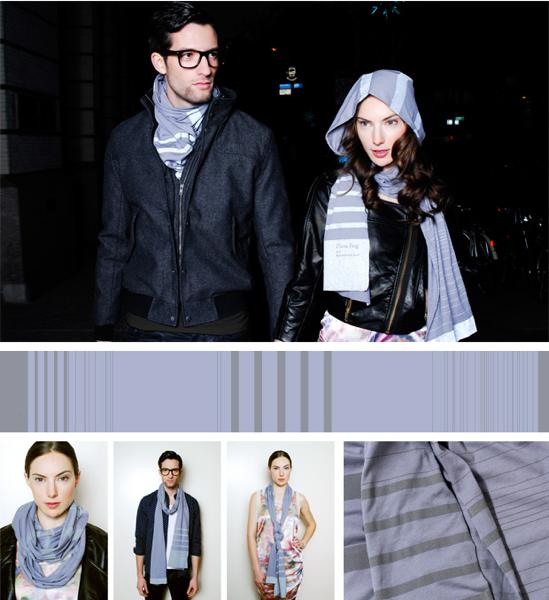 Reflective scarf