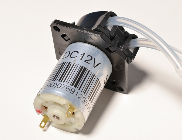 New product peristaltic liquid pump with silicone tubing