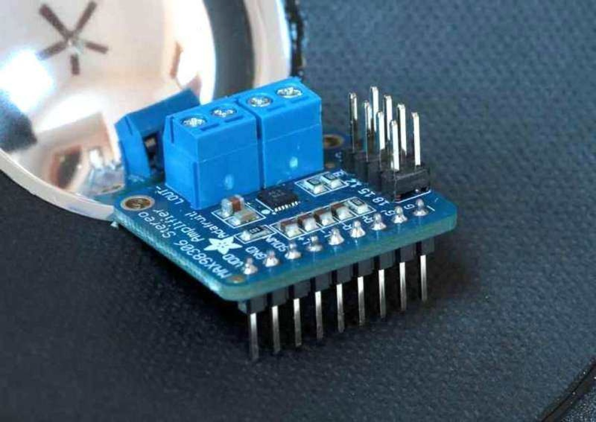 Overview Stereo 37w Class D Audio Amplifier Adafruit Learning Amplifierpoweraudiostereo3d Suggested Printed Circuit Board System