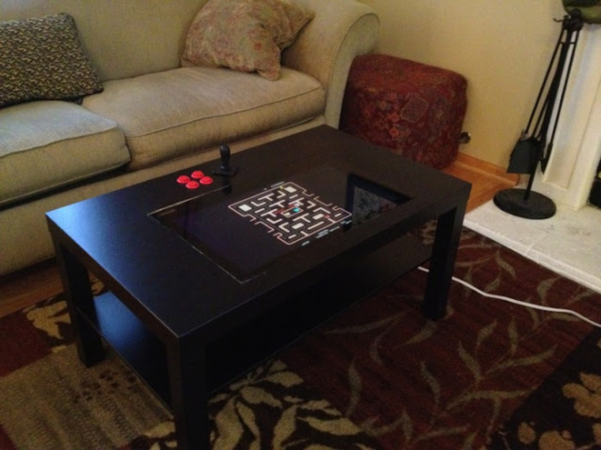 Lack Arcade Coffee Table Piday Raspberrypi Raspberry Pi
