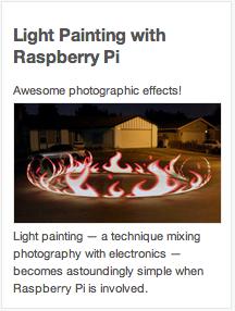 LightPaintingWithRaspberryPi