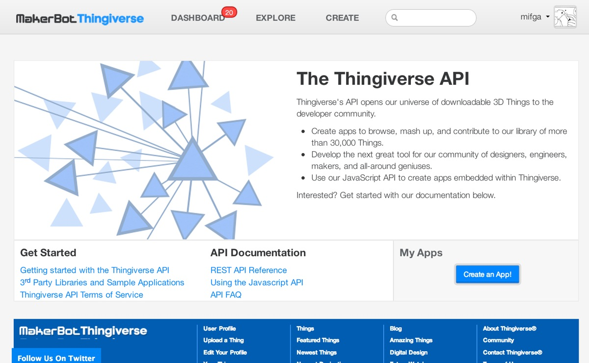 ThingiverseAPI2