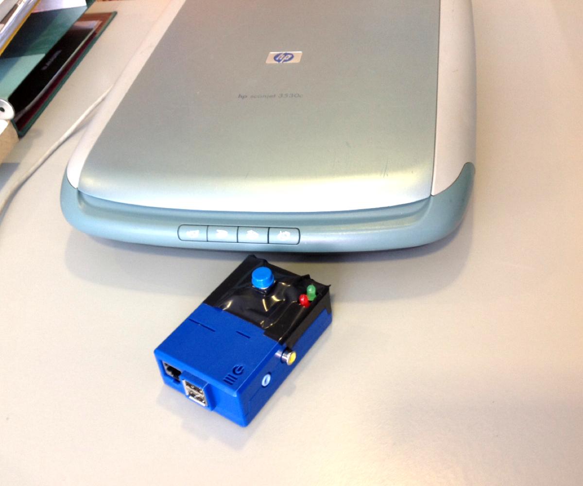 USBscannerPi