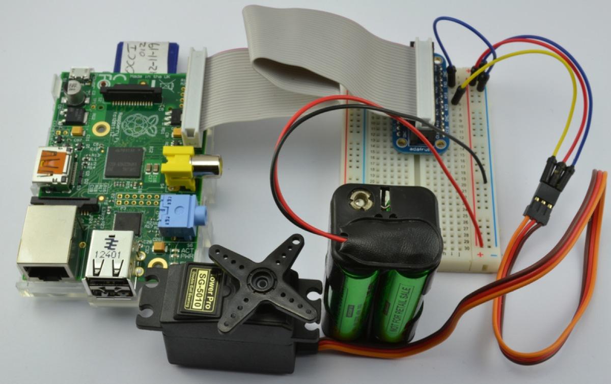 Adafruit S Raspberry Pi Lesson 8 Using A Servo Motor
