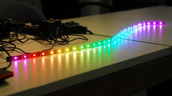 Getting Started With Programmable Rgb Led Strip Lighting