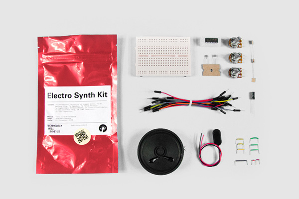 Diy Electronics Electro Synth Kit Now Sold At Music Site Bleep A New Direction For Retailers Makerbusiness