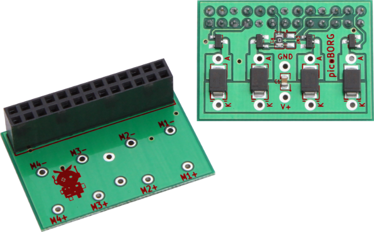 Picoborg Control Small Motors From Your Raspberry Pi