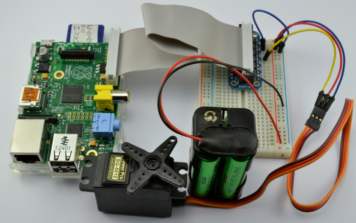 Overview Adafruits Raspberry Pi Lesson 8 Using A Servo Motor Test Circuit Adafruit Learning System