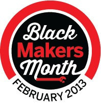 Blackmakermonth Badge