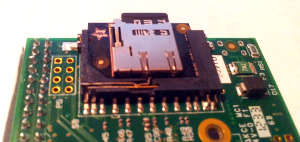 Raspberry pi sd card slot replacement