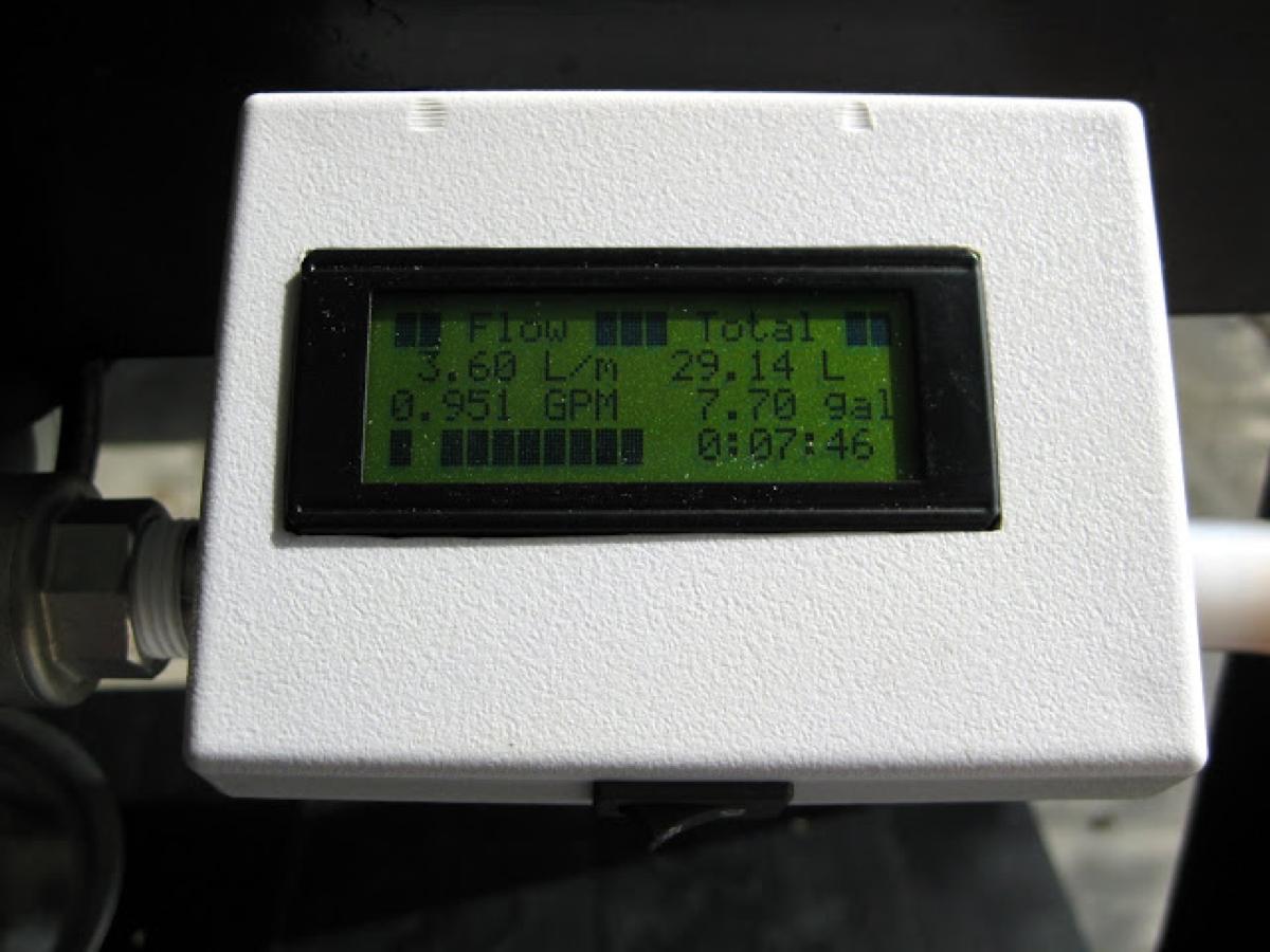 Flow Sensor for Electric Brewery « Adafruit Industries