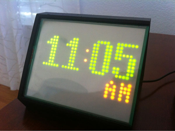 Open Clock Project, fully functional working prototype