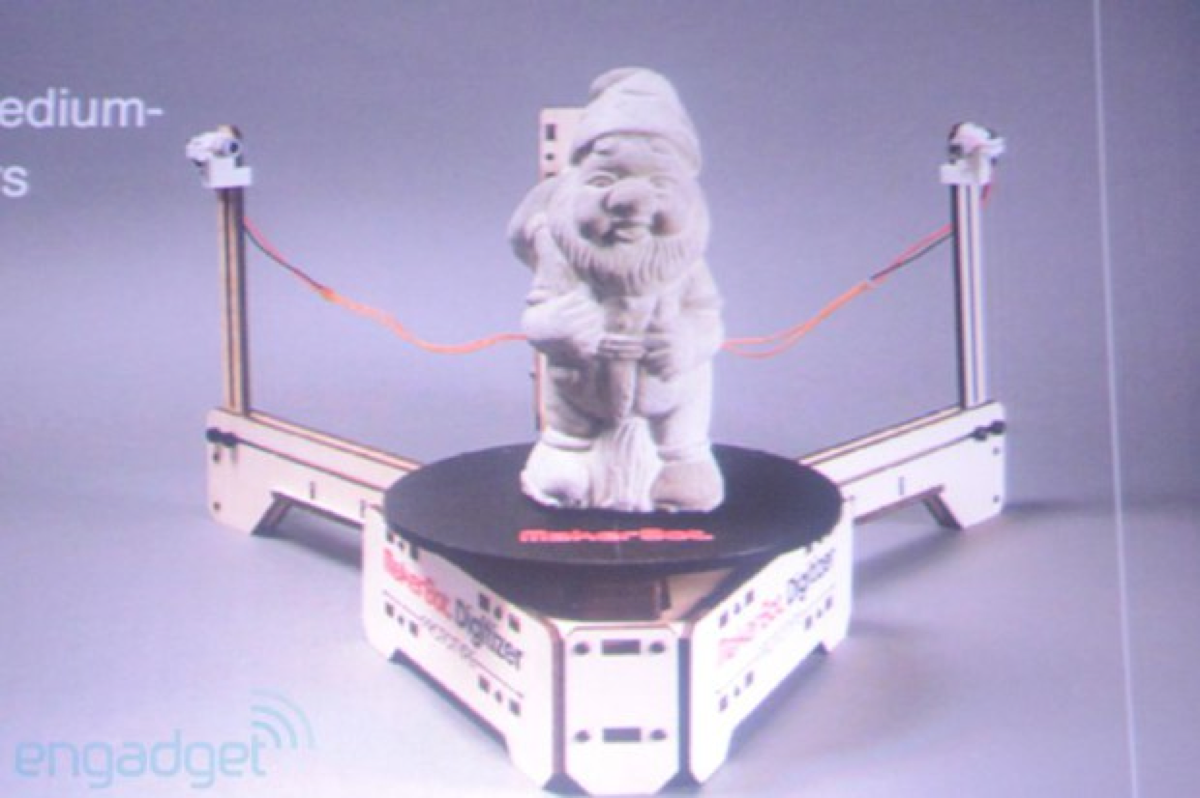 SpinScan model of MakerBot Digitizer