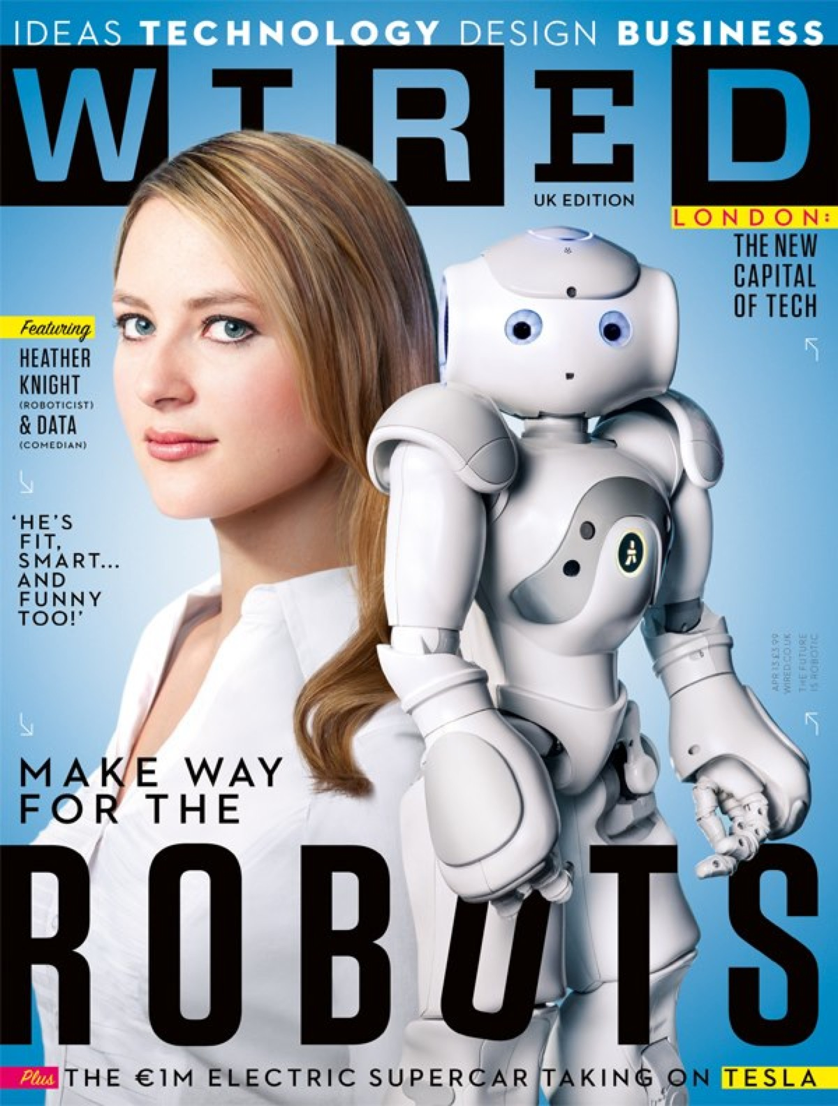 Heather Knight on the cover of WIRED! @HeatherKnight ...