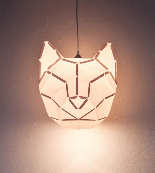 paperfoxlamp
