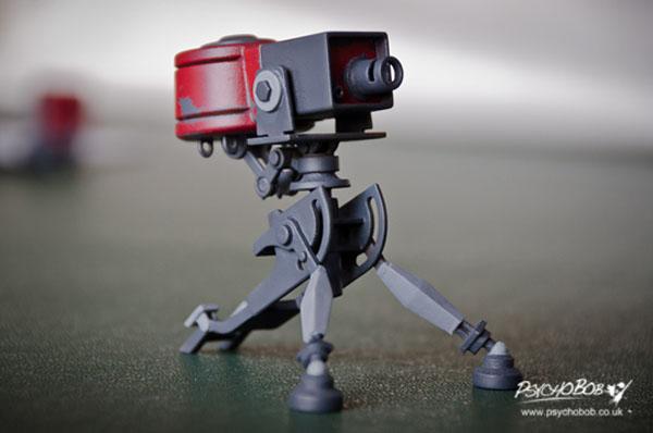 3D printed Sentry Gun 3