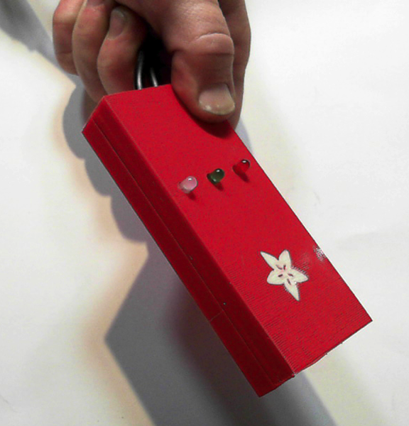 Adafruit RFID Breakout Case Prototype2